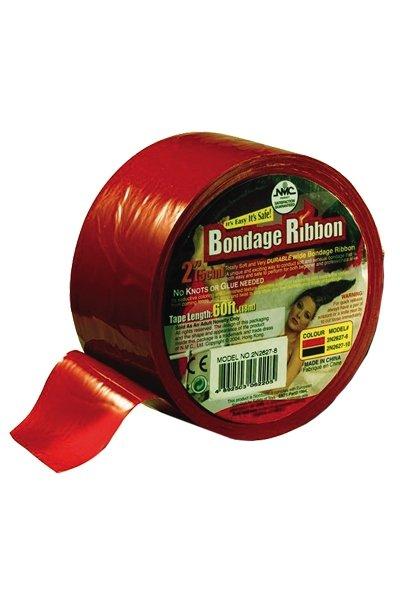 Bondage Ribbon 5cm/18mtr red
