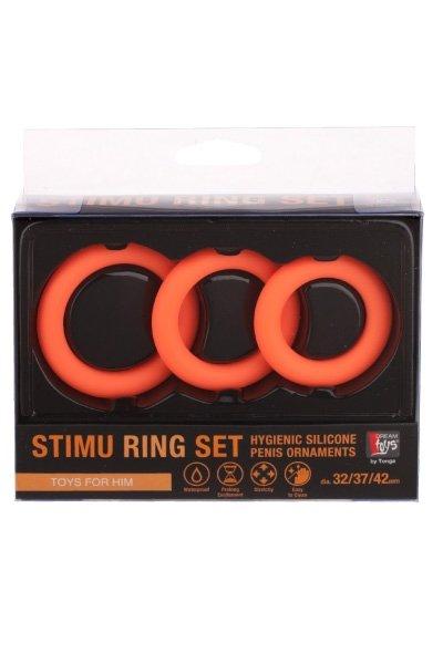 Stimu Ring Set Orange