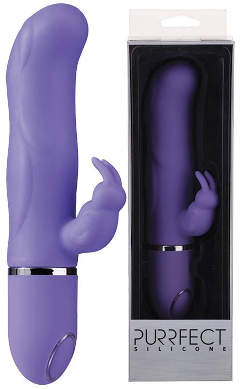 Purrfect Silicone 10-Speed Vibe Purple