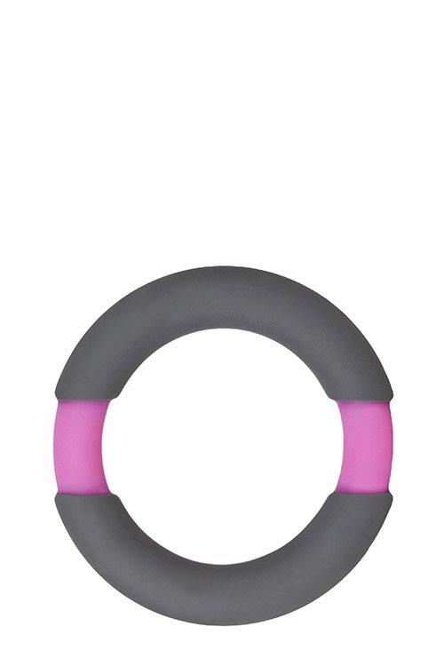 Neon Stimu Ring 37mm Grey/Pink