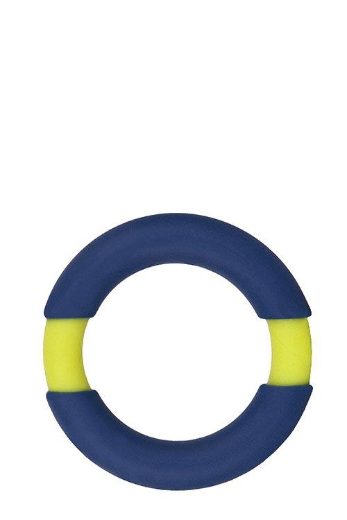 Neon Stimu Ring 37mm Blue/Yellow