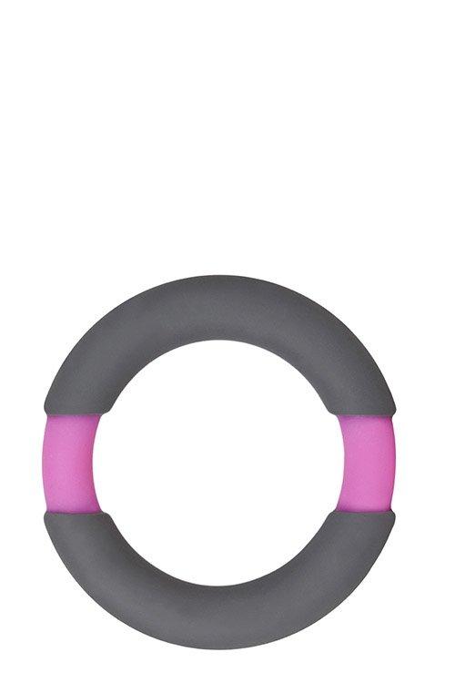Neon Stimu Ring 42mm Grey/Pink