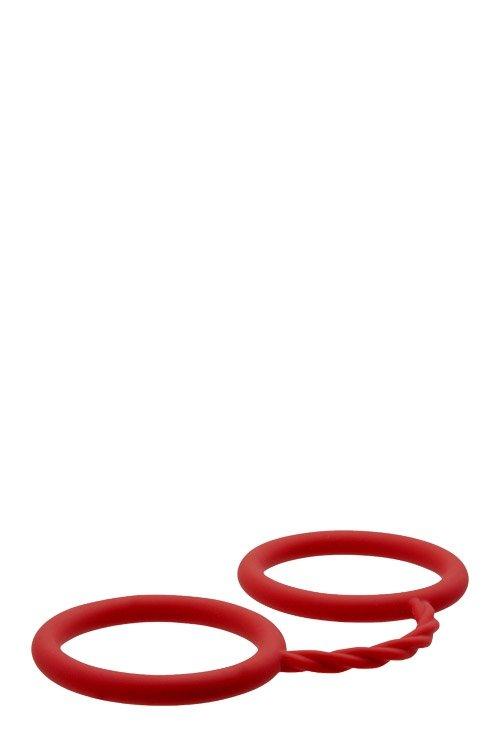 Bondx Silicone Cuffs Red