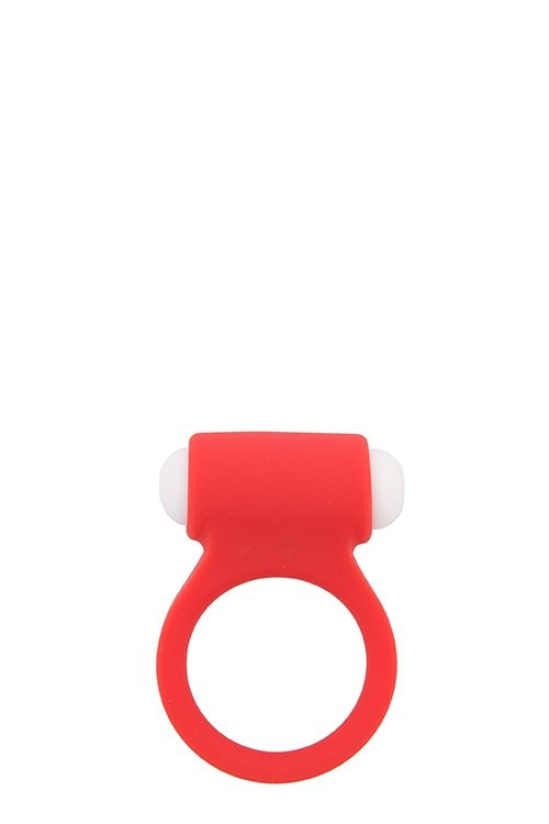Lit-Up Silicone Stimu Ring 3 Red