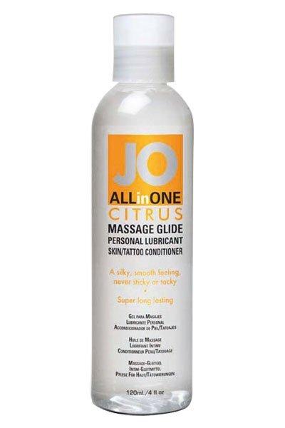 JO Sensual Massage Citrus 120ml