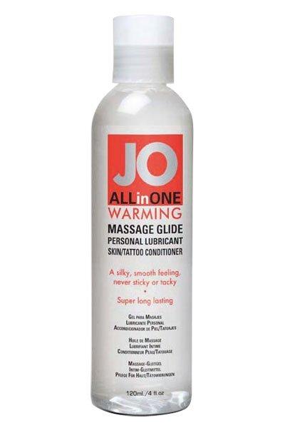 JO Sensual Massage Warming 120ml