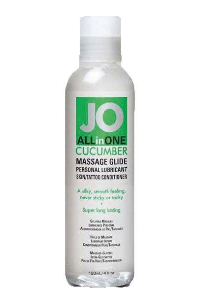 JO Sensual Massage Cucumber 120ml