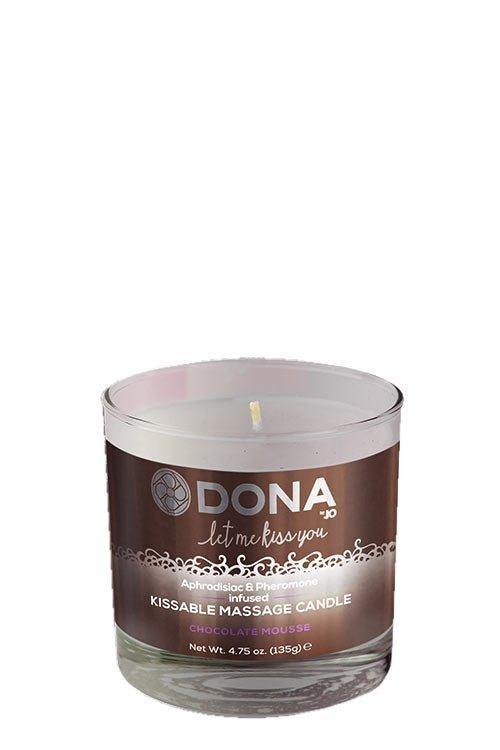 Dona Kissable Massage Candle - Chocolate