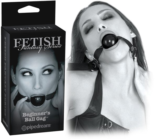 "Ff Limited Edition Beginner""s Ball Gag"