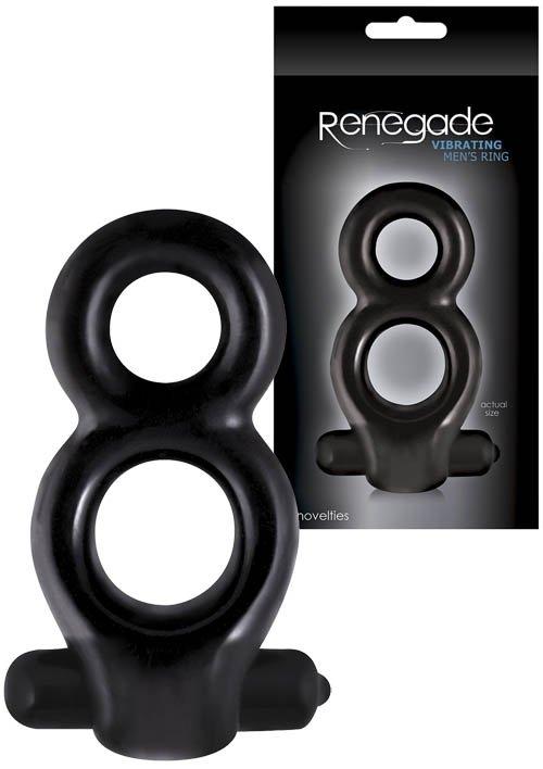 """Renegade Men""""s Ring Black"""
