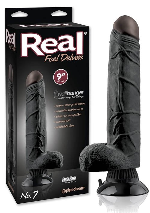 Real Feel Deluxe 7 Black
