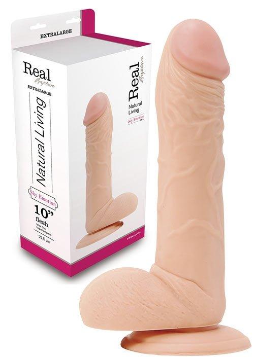 Dildo Real Rapture Flesh 10 Inch