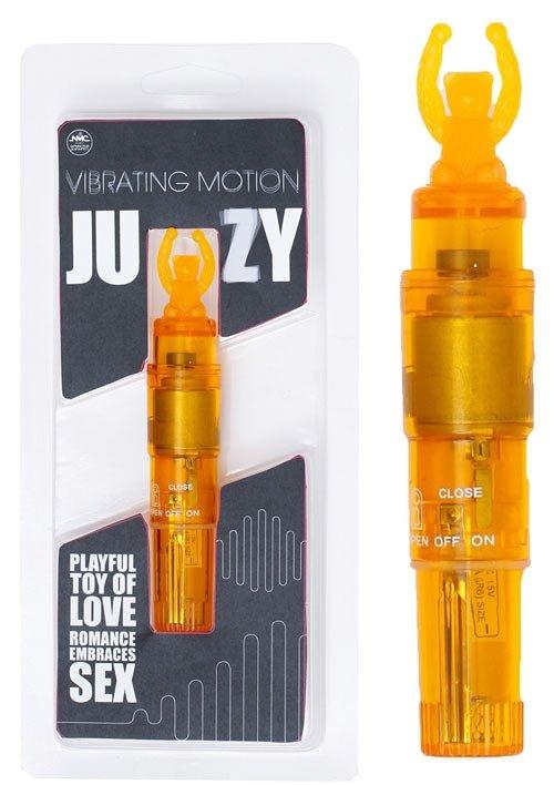 "Juzy Bear Vibe 4"" Clear Orange"