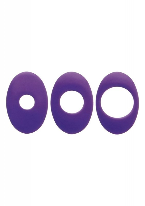 Evolved Anal Stop Ring For Vibe 3 Pcs