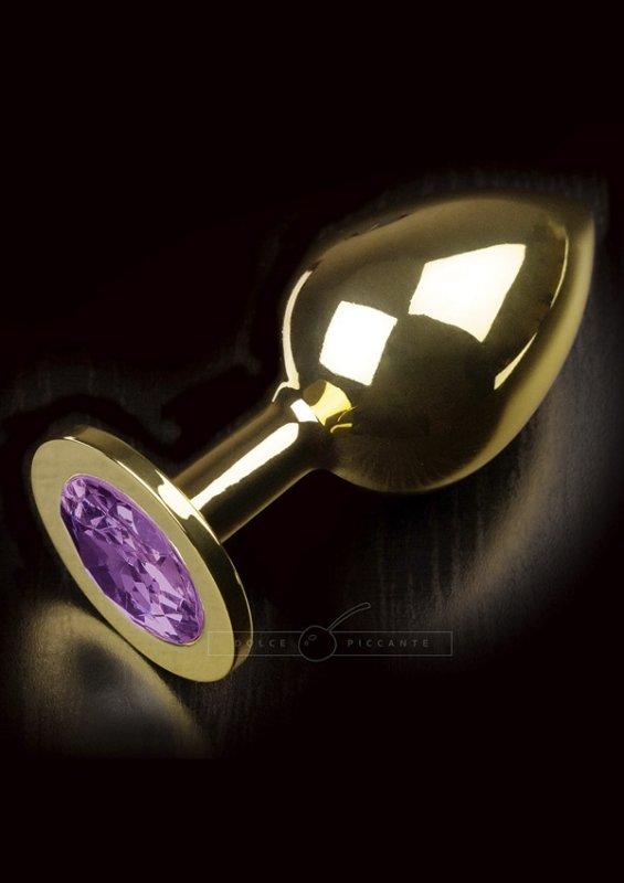 Jewellery Large Gold Purple