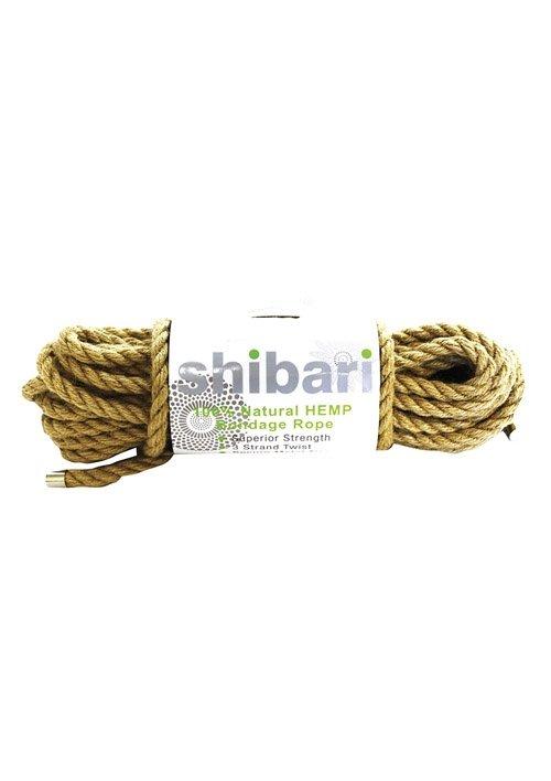Natural Hemp Bondage Rope 10m