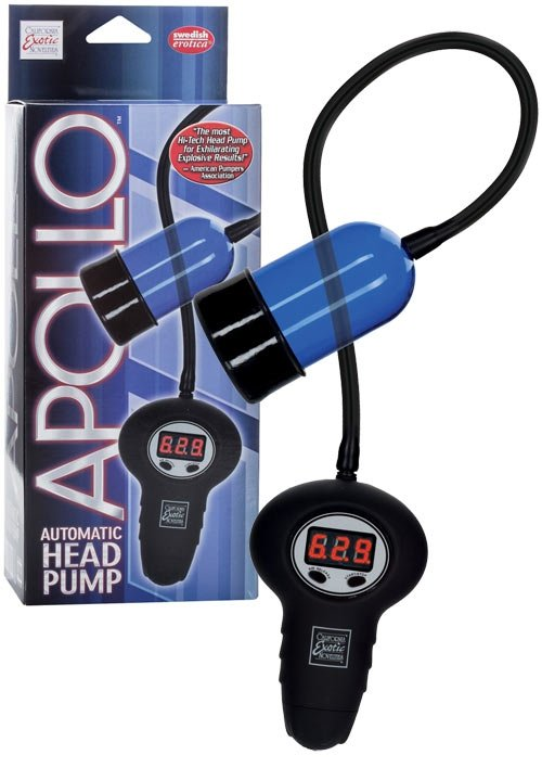 Apollo Automatic Head Pump Blue