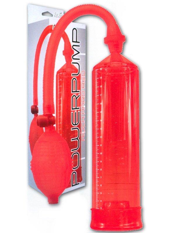 Pressure Pleasure Pump Red