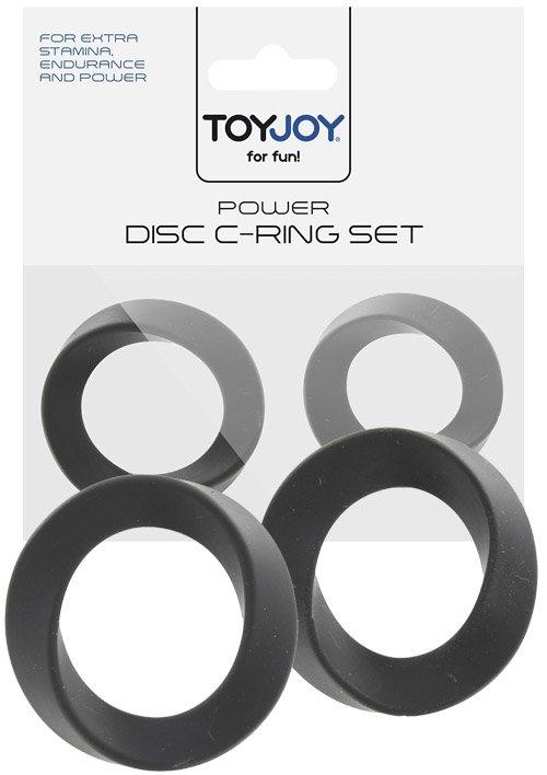 Power Disc C-Ring Set Black