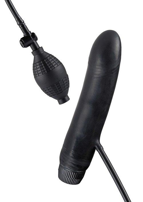 Bob The Blower Infl. Vibrator Black