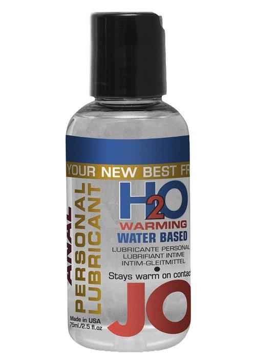 Jo Anal H2o Lube Warming 75 ml