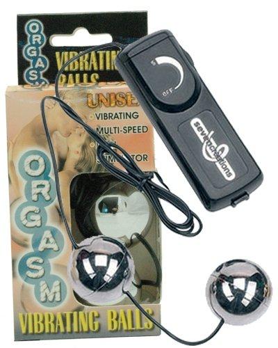 Orgasm Vibrating Ball - Silver