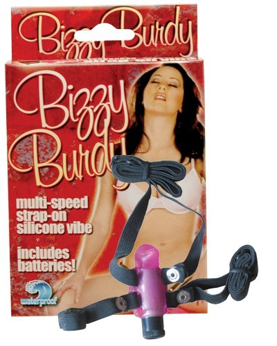Strap-On Bizzy Birdy - Clear Hot Pink