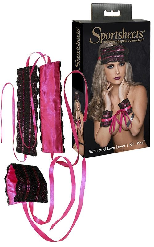 Pink Satin and Lace Lovers Kit