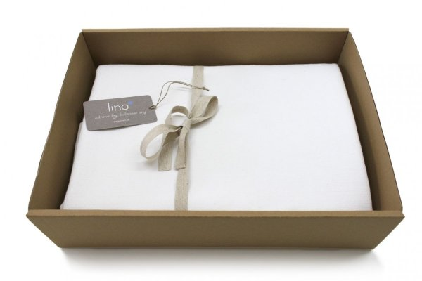 Obrus SIMPLE 150x150 biały
