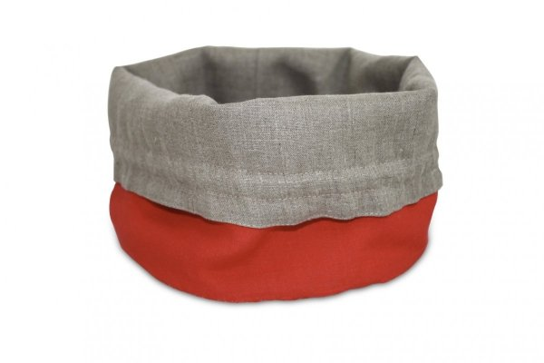 Koszyk na pieczywo (czerwony)
