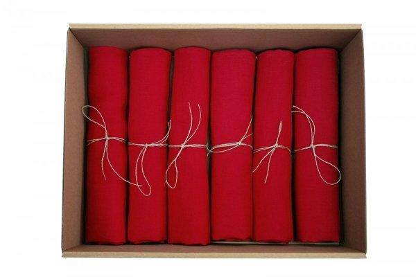Komplet serwetek SIMPLE (czerwony)