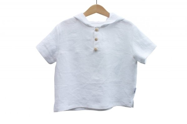 Koszulka z kapturem (biała) r. 86/92