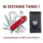 Victorinox Scyzoryk Ranger 1.3763 + Etui 4.0521.3