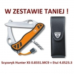 Victorinox Hunter XS 0.8331.MC9 + Etui 4.0523.3