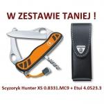 Victorinox Hunter XS 0.8331.MC9 + Etui 4.0523.3