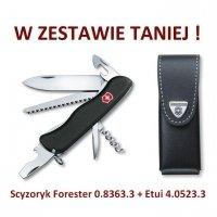 Victorinox Scyzoryk Forester 0.8363.3 + Etui 4.0523.3