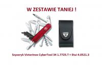Scyzoryk Victorinox CyberTool 34 1.7725.T + Etui 4.0521.3