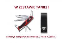 Scyzoryk Victorinox RangerGrip 55 0.9563.C + Etui 4.0505.L