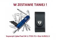 Scyzoryk Victorinox CyberTool 34 1.7725.T2 + Etui 4.0521.3