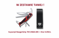 Scyzoryk Victorinox RangerGrip 78 0.9663.MC+ Etui 4.0505.L