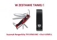 Scyzoryk Victorinox RangerGrip 79 0.9563.MC + Etui 4.0505.L