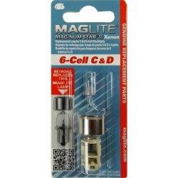 Żarówka Maglite xenon 6C , 6D LMXA601