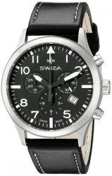 Zegarek SWIZA Siriuz Chrono SST black-black WAT.0353.1001
