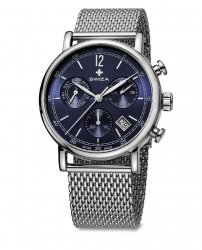 Zegarek SWIZA Alza Chrono SST blue-mesh WAT.0153.1005