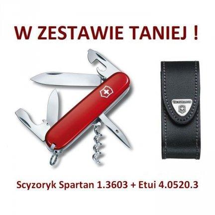 Victorinox Scyzoryk Spartan 1.3603 + Etui 4.0520.3