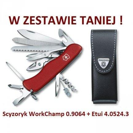 Victorinox WorkChamp 0.9064 + Etui 4.0524.3