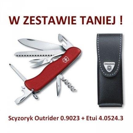 Scyzoryk Victorinox Outrider 0.9023 + Etui 4.0524.3