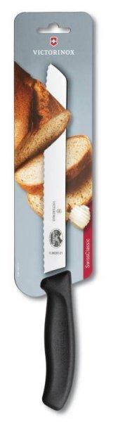 Nóż do chleba Fibrox Victorinox 6.8633.21B na blisterze