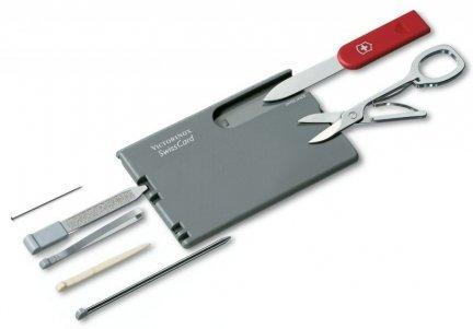 SwissCard Classic 0.7106 Victorinox  GRAWER GRATIS