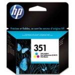 Tusz HP 351 Vivera do Deskjet D4260/4360, Officejet J5780 | 170 str. | CMY